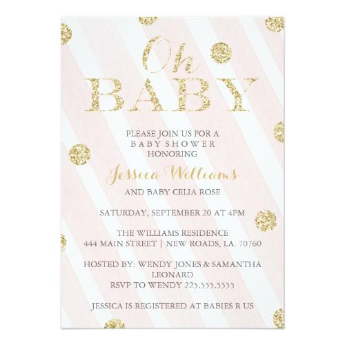 Baby Shower Invitations It S All About Me
