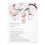 pinkbabyshowerinvitations_pink_mason_jars_lovebirds_baby_shower_invitations
