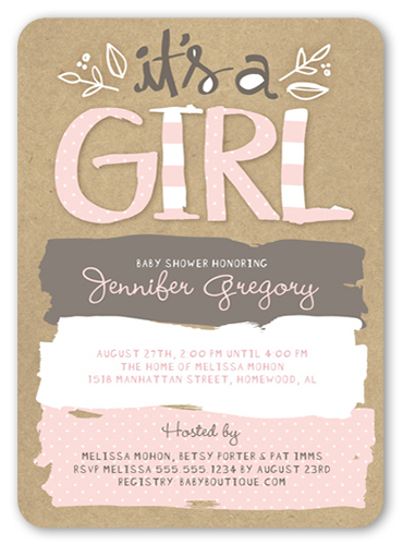 it's all about the baby shower | it's all about me, Baby shower invitations